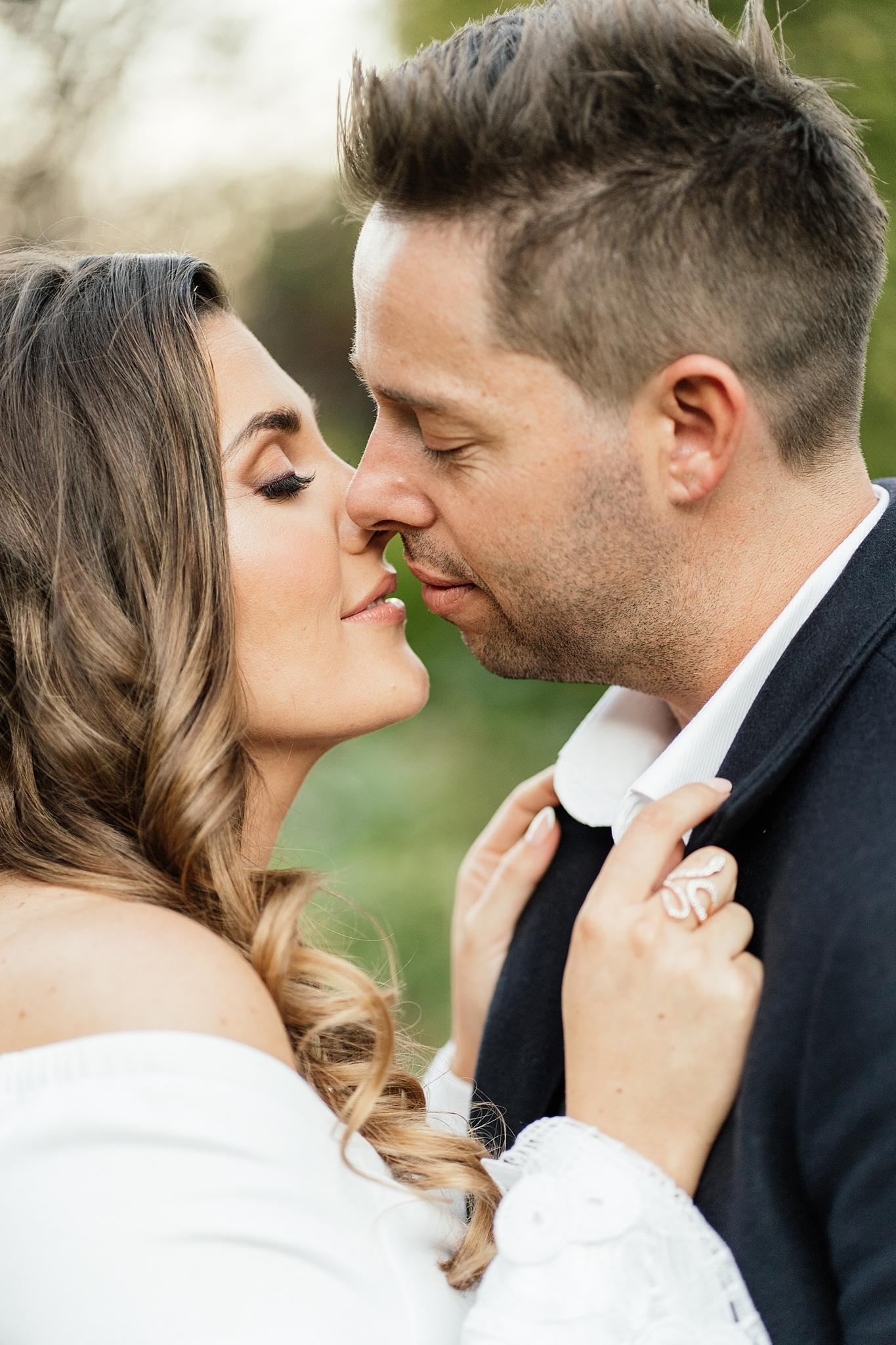 Intimate Wedding Houghton Couple